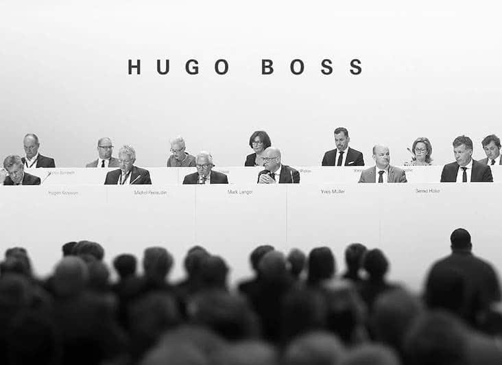 supervisory board hugo boss group