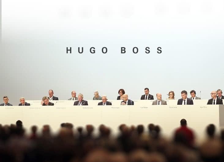 famous brand meet top quality HUGO BOSS Group: Hauptversammlung